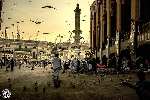 Pilgrams in Mecca