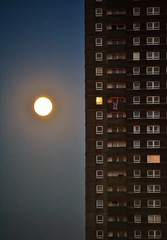 15 Linkwood Crescent (Michelle O'Connell Photography) Tags: moon scotland glasgow flats highrise housing towerblock highflats drumchapel linkwoodcrescent drumchapelglasgow 15linkwoodcrescent linkwoodflats drumchapelflats drumchapellifesofar michelleoconnellphotography