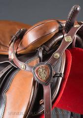 ART_1032 (White Bear) Tags: handmade cossack russian saddle saddles saddlery