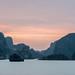 Sunset on Ha Long Bay / Vietnam
