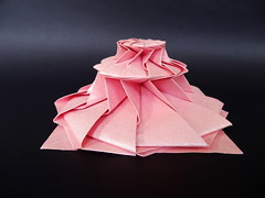 12-Point Flower Tower (Chris Palmer) (OrigamiSunshine) Tags: paper origami paperfolding chrispalmer flowertower origamisunshine