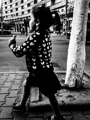 LITTLE HEARTS (Galantucci Alessandro) Tags: street city portrait people blackandwhite bw white black monochrome contrast photography monocromo town eyecontact europa europe strada fotografie gente candid streetphotography documentary east persone romania alb grainy fotografia bianco ritratto nero biancoenero est citt cluj clujnapoca contrasto oameni oras negru monocrom documentar albsinegru fotografiadistrada fotografiedestrada portretu documentaristica
