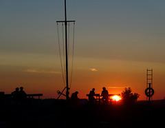 Hjarbæk sunset (Jaedde & Sis) Tags: sunset silhouette hjarbæk challengeyouwinner herowinner