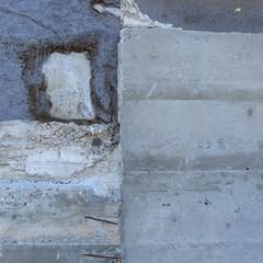 Fassade - face of a building (Ellen Ribbe) Tags: texture facade concrete rust decay surface rost beton fassade verfall oberfläche