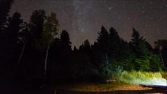 Utah Night Time Lapse (surfneng) Tags: camp sky moon tree night utah timelapse video canyonlandsnationalpark milkyway cedarcanyon