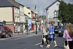 LOOK RIGHT!! (Dennis Ludlow) Tags: street city ireland girls irish cars beautiful town high women europe crossing village c charming cashel