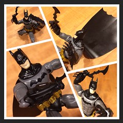 Bat Attack! (skipthefrogman) Tags: fun toy action figure batman kit bandai spru sprukits