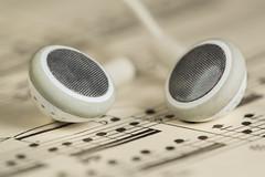 Music 293/365 ([inFocus]) Tags: music macro apple canon studio creative 100mm photoaday 365 sheetmusic tabletop earphones 2014 project365 macromonday 5dmkiii