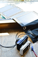 camera solar battery charger (Photo: akiko@flickr on Flickr)