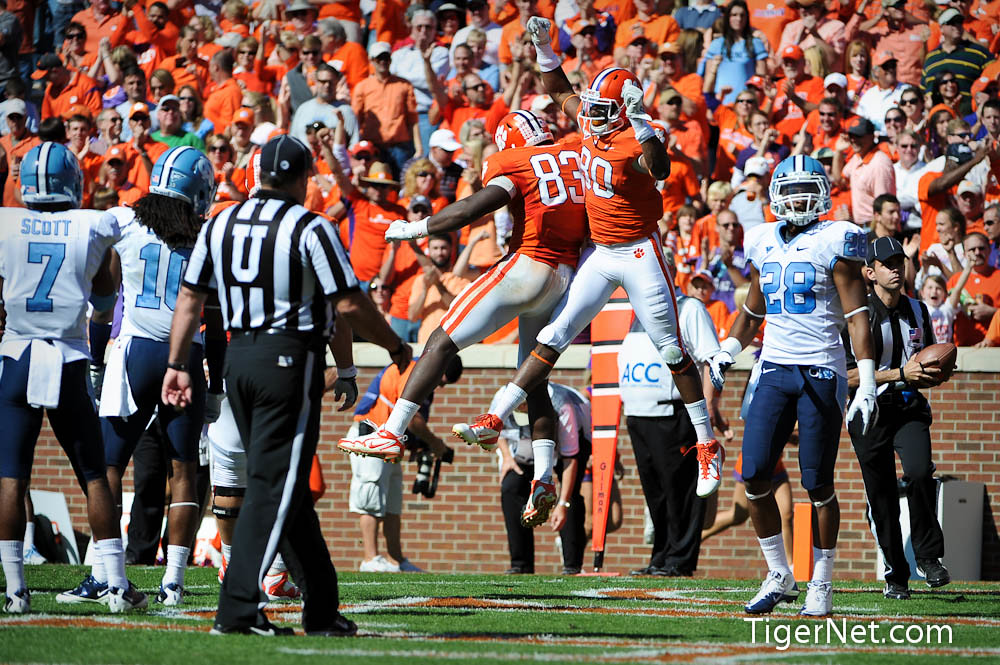 Clemson Photos: 2011, Brandon  Ford, Dwayne  Allen, Football, North  Carolina