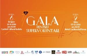 Înscrie-te la Gala pentru Supervoluntari 2014!