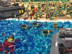 Brickinawa (Kaelas Munger) Tags: world two trooper tower japanese marine war theater tank pacific wwii battle stuart type ww2 marines 95 sherman banzai brickarms type94 brickinawa battlelug