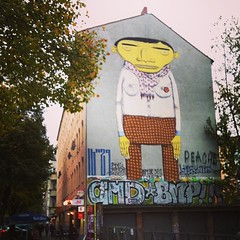 Street art in Berlin #Kreuzberg #graffiti #streetart #berlin #travel #errante