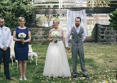 """Frances and Steve - Footscray Community Arts Centre Amphitheatre • <a style=""""font-size:0.8em;"""" href=""""http://www.flickr.com/photos/21623077@N04/15478440197/"""" target=""""_blank"""">View on Flickr</a>"""
