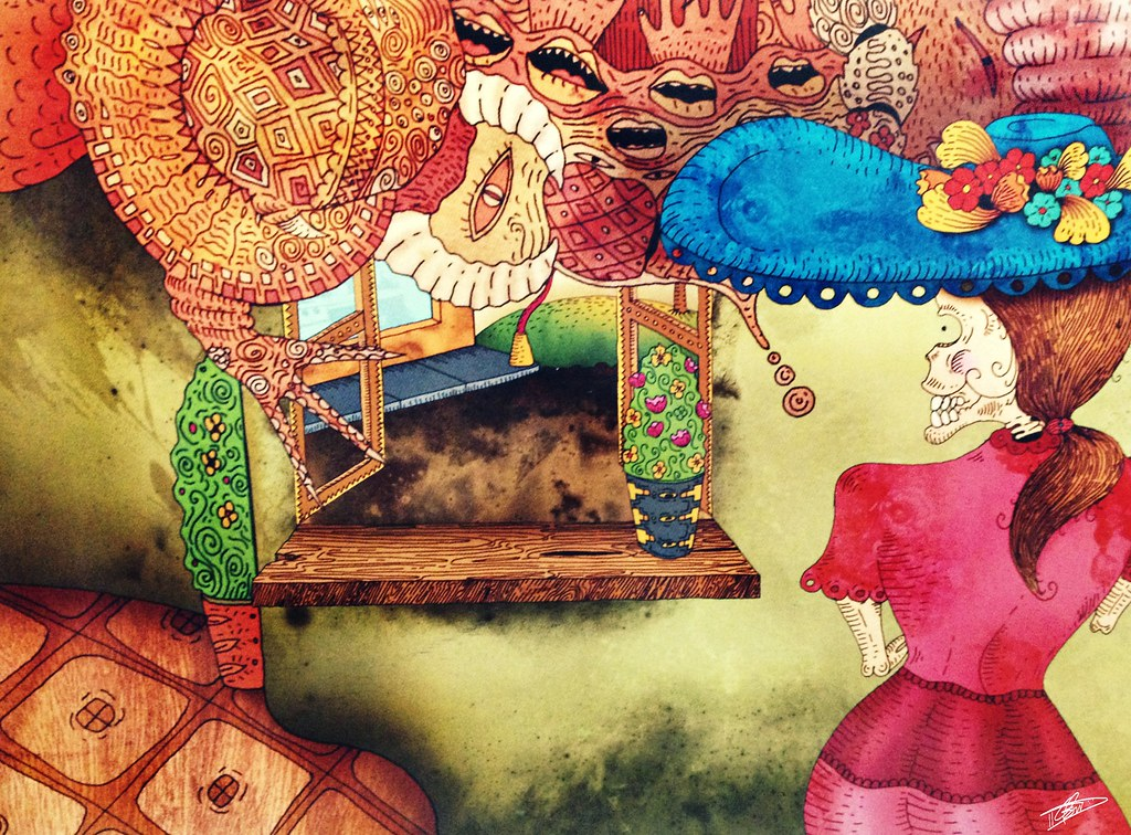 The Worlds Newest Photos Of Catrina And Dibujo Flickr Hive Mind