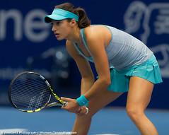 Caroline Garcia (Jimmie48 Tennis Photography) Tags: linz tennis wta 2014 generaliladieslinz carolinegarcia