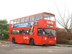 The Hamble Atlantean... #1 (Southern England Bus Scene) Tags: southampton yrv252v