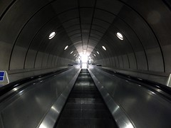Journey to the Centre of the Earth (The Relevant Authorities) Tags: london station escalator tube londonunderground southwark