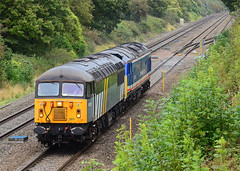 56301. (curly42) Tags: grid railway hoover class50 class56 haresfield 56301 50026 0z50
