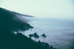 (Will H. Mayer) Tags: ocean california travel west color film 35mm dawn coast big highway pacific roadtrip adventure explore pch sur canoneoselanii willmayer