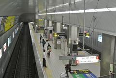 osaka596 (tanayan) Tags: urban station japan train subway town nikon cityscape metro railway line 大阪 日本 osaka j1 municipal midosuji tennoji 天王寺 御堂筋線