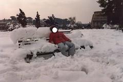 La grande nevicata di Roma nel 1986