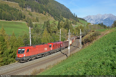 Tyrolean steel... (Marco Stellini) Tags: austria tirol brenner siemens rail cargo taurus carrier obb matrei 1116 pfons rh1116