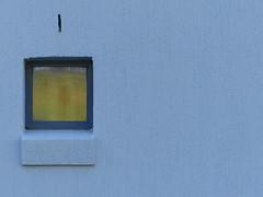Minimal window (Gazman_AU) Tags: blue window glass yellow wall square render small frame hww