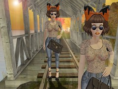 What you looking at!? (Bag My Swag SL) Tags: tag ch thd reign spellbound slink monnier deetalez fifriday moderncouture