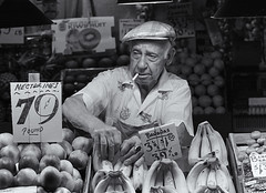 Old produce man (Don Conrard Photography) Tags: seattle pikeplacemarket donconrard