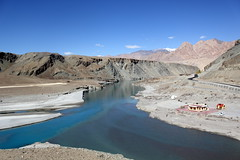 indus and zanskar river, ladakh confluence (thupstan_rin) Tags: beautiful river landscape ngc himalaya indus confluence ladakh indusriver incredibleindia thelastshangrila zanskarriver thelastparadise greatshotss