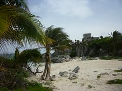 P1020359 (ferenc.puskas81) Tags: beach america mexico ruins riviera maya central july tulum playa spiaggia castillo 2010 centrale messico luglio