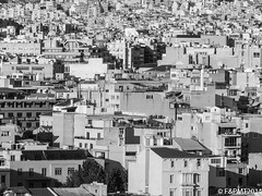 64/365: Too many buildings, too little space (unfocus2012) Tags: city blackandwhite bw olympus athens greece busy 365 bnw picofday project365 365days cityspace stylus1