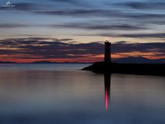 Le Grau d'Agde LongExposure . X20 . (AKromatiCK (FreeGuiGeek)) Tags: longexposure sunset lighthouse france reflection fujifilm far phare x20 agde languedocroussillon hrault canig nd8 fujifilmx20