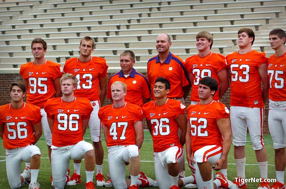Clemson Photos: 2011, Ammon  Lakip, Chandler  Catanzaro, Dawson  Zimmerman, Football, photoshoot, Spencer  Benton, teamphotos