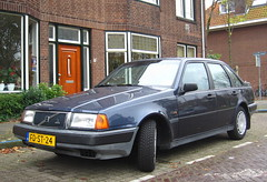 1992 Volvo 440 DL 1.7i Automatic (rvandermaar) Tags: volvo automatic 1992 dl 440 sidecode5 fdst24