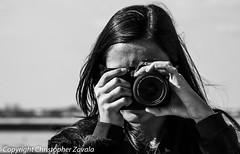 A girl and her camera (Doctor Christopher) Tags: