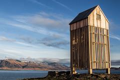 Haustdagur  Reykjavik (swhler) Tags: iceland bluesky esja form reykjavk sland