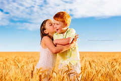 Brother and sister (Robert Lang Photography) Tags: family love field kids children happy photos sister brother farm wheat sophie australia siblings kingston southaustralia twopeople eyre robertlang eyrepeninsula coomunga robertlangportlincoln robertlangphotography