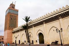 Moulay El yazid Mosque, Marrakech (Giorgio De Cicco) Tags: africa travel sky shadows mosque morocco national marocco marrakech oriente casablanca oriental geographic moschea