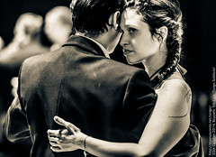 Catherine and ???, Patio de Tagno, October 2014