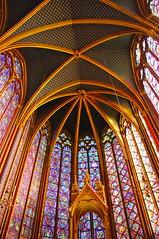 France, Paris, La Sainte-Chapelle (jlfaurie) Tags: paris france francia iledelacité religiousart mechas vitraux artreligieux artereligioso vitrales lasaintechapelle taintedglass jlfaurie jlfr mpmdf