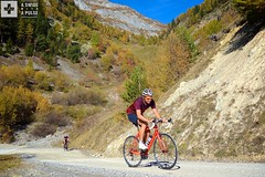 A sweet section of dirt before the top (A Swiss With A Pulse) Tags: autumn cycling switzerland suisse wallis valais indiansummer rhonevalley