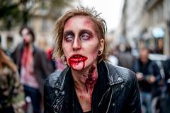 Zombie Walk 2014 (dprezat) Tags: street people paris dead living blood nikon walk brains romero zombies sang marche d800 2014 cerveau walkingdead zombiewalk mortvivant nikond800 hmoglobine zwp2014