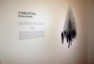 """""""Combustión"""" Emilio Amella - Alicia Rey Galería"""