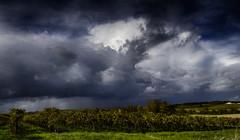 Storm... storm... and once again storm... (fra298) Tags: autumn panorama storm france clouds automne landscape cloudy nuages paysage orage charente nuageux poitoucharentes verrieres16