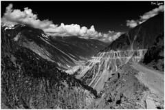 The Zoji Pass (MartinSylvester Photography) Tags: road blackandwhite bw india mountain black clouds dangerous skies pass kashmir leh himalayas ladakh jammu treacherous