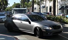 Mercedes-Benz S550 (W221) (SPV Automotive) Tags: black car sedan mercedesbenz matte s550 w221