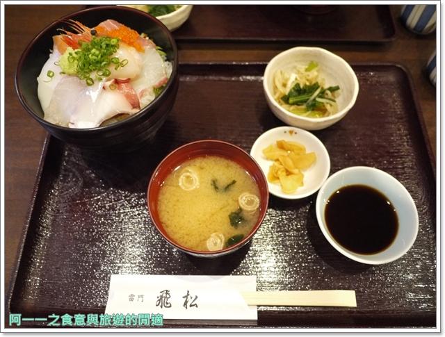 日本東京美食淺草人形燒雷門飛松海鮮丼image034