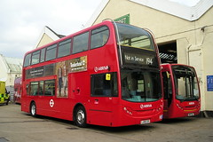Arriva LJ08 CXV (KK70088) Tags: bus london londonbuses arriva bartonpark alexanderdennis enviro400 britishbuses hantsdorsettrim lj08cxv